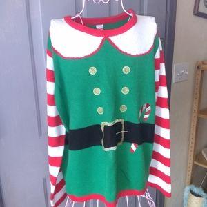 Elf Christmas Sweater
